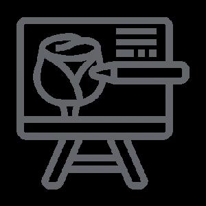 icon gray drawing