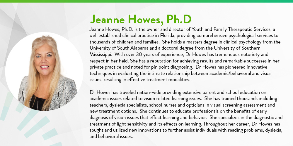 Dr Jeanne Howes, Ph.D bio