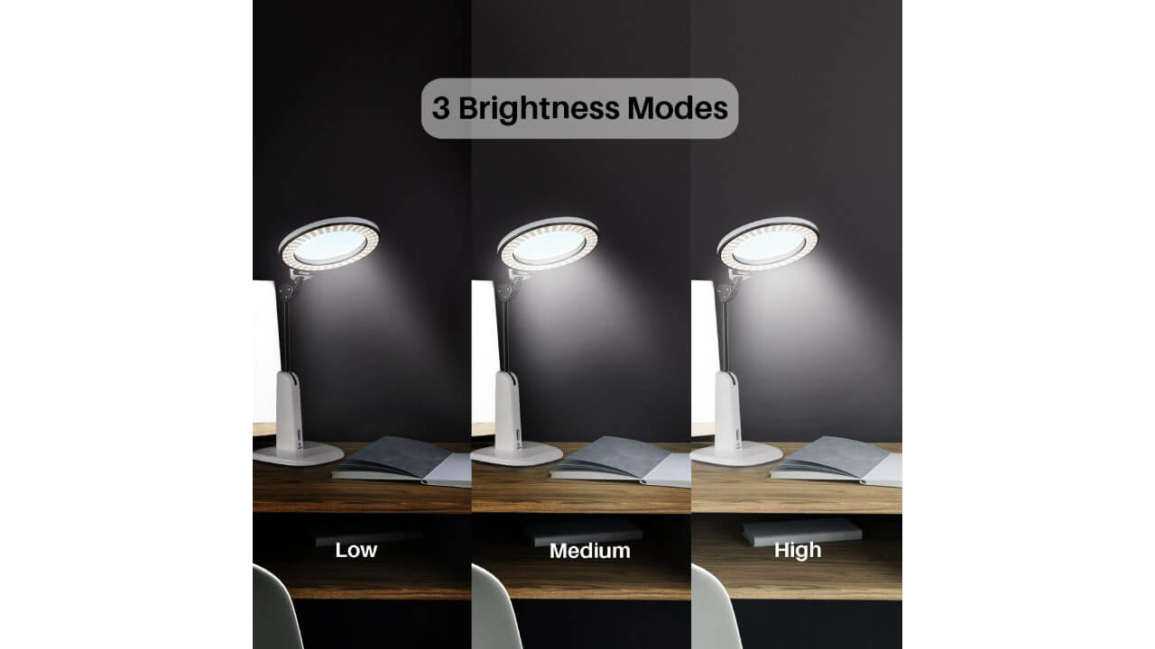 blue light blocking study desk lamp