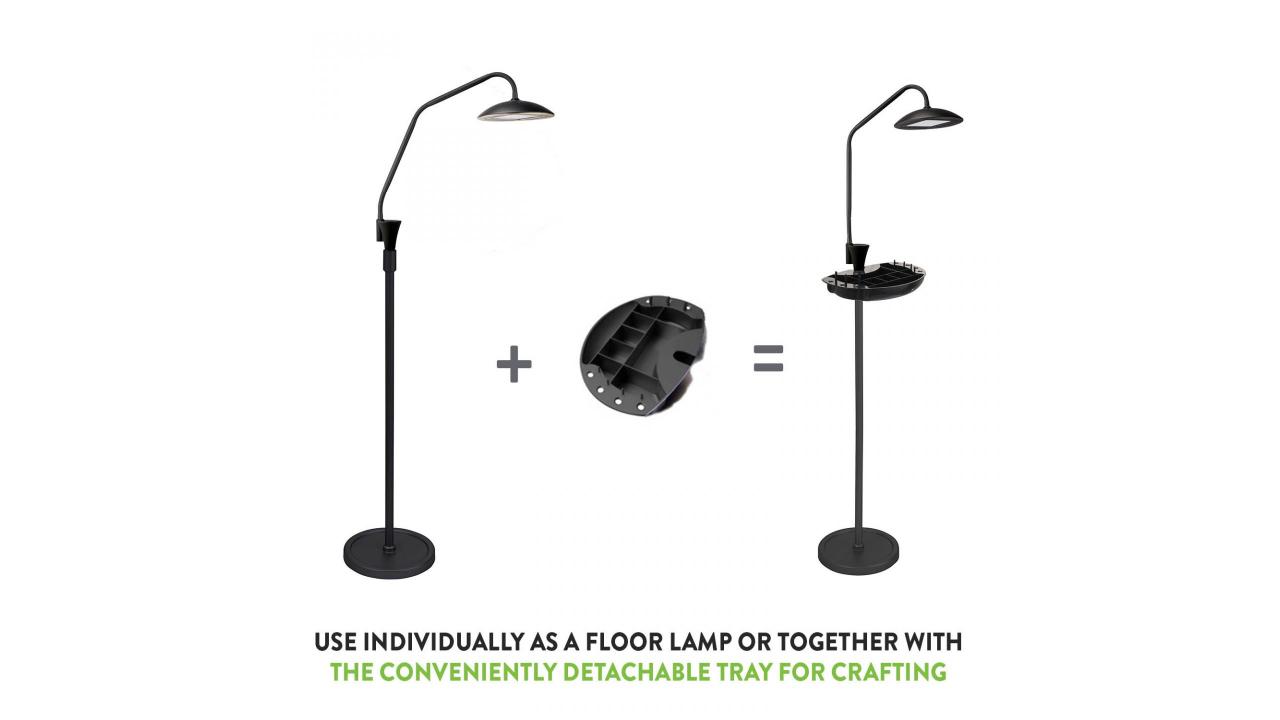 blue light blocking floor lamp