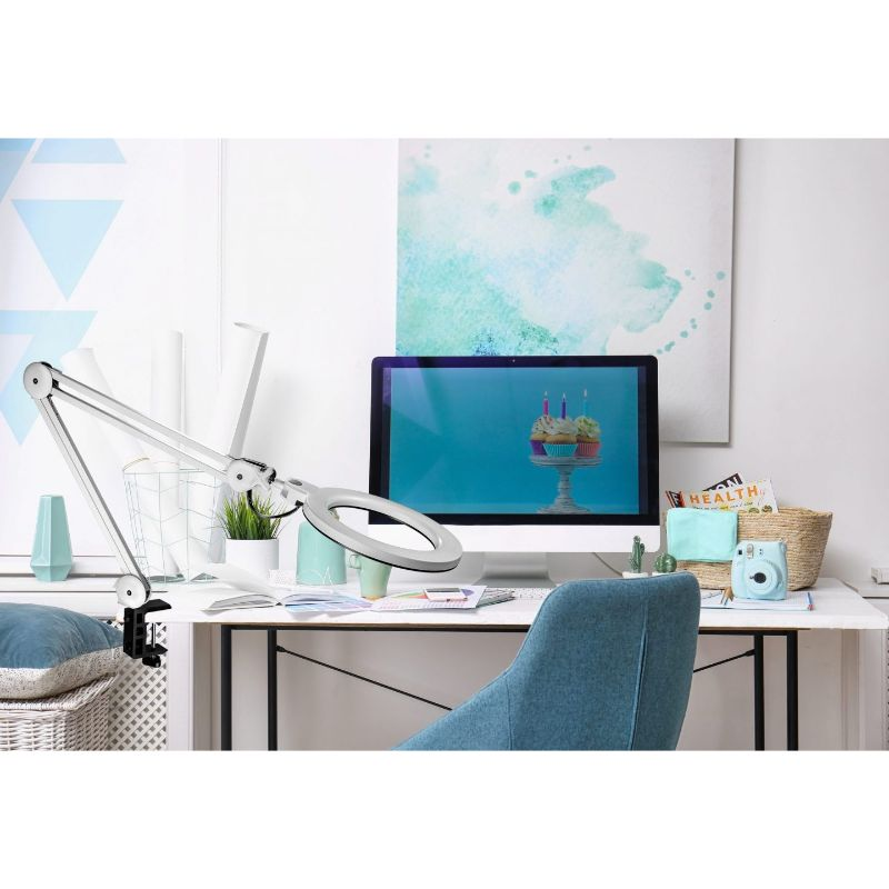 blue light blocking blue light safe work clamp desk lamp